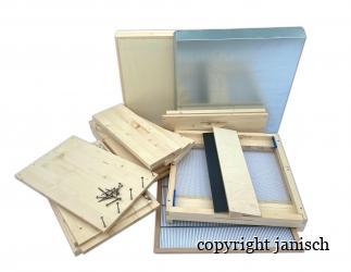 Set selber bauen; Dadant Blatt10/ 499x425 flacher Boden HN159 Bild