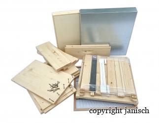Set selber bauen; Dadant Blatt12/ 499x499, hoher Boden/ HN141 Bild