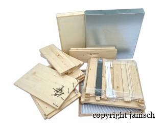 Set selber bauen; Dadant Blatt12/ 499x499, hoher Boden/ HN159  Bild