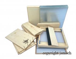 Set selber bauen; Dadant Blatt12 / 499x499, flacher Boden/ HN159   Bild