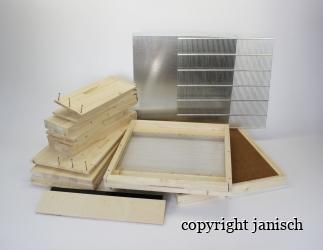 Set selber bauen; Dadant Blatt10/ 499x425, flacher Boden HN159 **Abverkauf** Bild