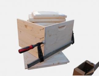 BK Zarge zum selber bauen; Jumbo EM10 / 420x435 Bild