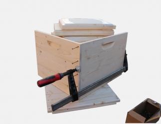 BK Zarge zum selber bauen; Jumbo Quadrat / 435x435 Bild