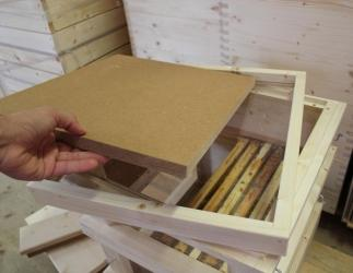 Innendeckel mit Glasboden passend auf Glaszarge; ZA-Kranz 464x483 Bild