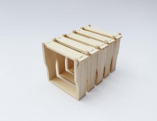 Rähmchen für king-box, 5 Stück / Packung Bild