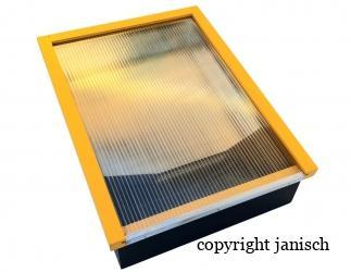 Sonnenwachsschmelzer für 4 Rahmen Bild
