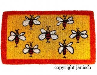 Fußmatte rechteckig aus Kokos Bild
