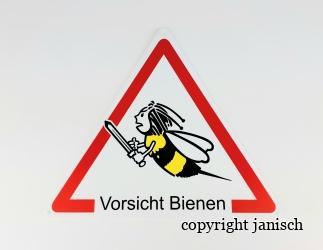 Warnschild Bild