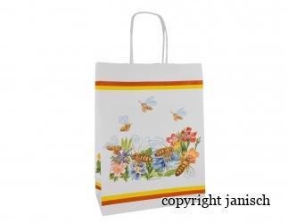 Papier - Tragtaschen;  -Flores- / 10 Stück Bild