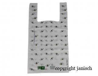 Kunststoff Tragetaschen; -Flores- / 50 Stück Bild
