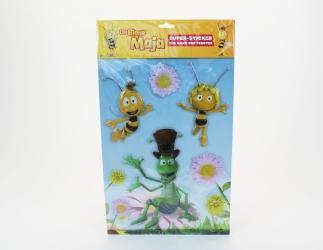 Biene Maja Super Sticker 8 - teiliges Set Bild