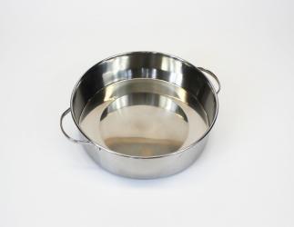 Wachsschale aus Edelstahl,  6 Liter Bild