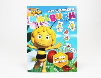 Biene Maja Malbuch/ Sticker Bild