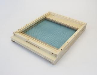 Gitterboden flach; EMMU Quadrat  / 435x435 Bild