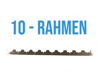 Abstand Streifen Edelstahl 448 mm für 10 Rahmen  Bild