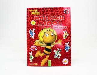 Biene Maja Malbuch mit 1001 Stickern Bild