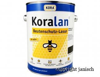Beutenschutz Lasur Koralan 2,5 Liter;  Tanne Bild