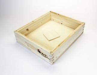 Futterzarge für Plastiktasse EMMU Quadrat / 435x435 Bild