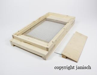 Gitterboden flach; EM / 280x440 Bild