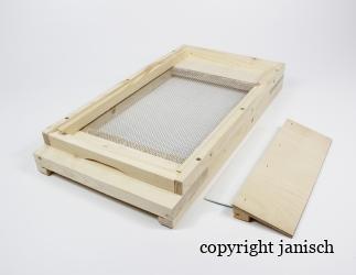 Gitterboden flach; ZA+ Dadant / 280x495 Bild
