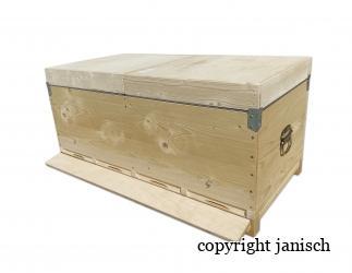 4-queen hive; Dadant Blatt Bild