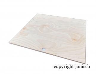 Wärmeplatte; Dadant 12er US (modifiziert)  / 513x513 Bild