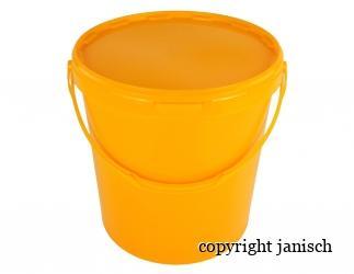 Eimer Gelb inkl. Deckel, 25kg Bild