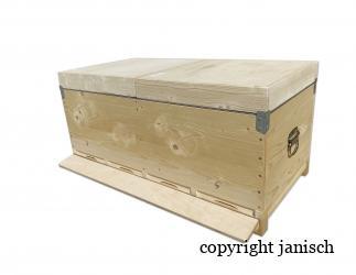 4-queen hive; Dadant US modifiziert Bild