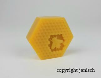 Reine Pflanzenölseife mit Honig - 75 g Bild