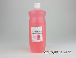 Rosenblüten Duschbad & Shampoo, 1 l. Bild