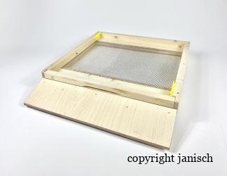 Gitterboden flach; Dadant Blatt12 / 499x499 Bild