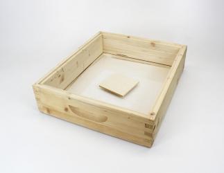 Futterzarge für Plastiktasse; ZAMU10 **Glasboden** / 420x490 Bild