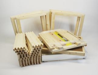 Set selber bauen; EM Kranz10 Flachzarge / 464x483 Bild