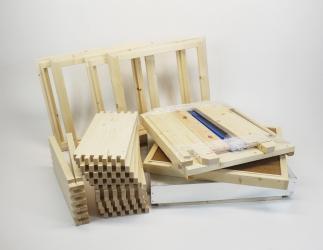 Set selber bauen; ZA Kranz10 Vollzarge / 464x533 Bild