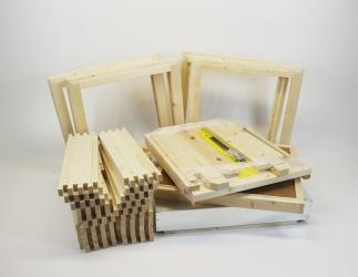 Set selber bauen; ZA Kranz10 Flachzarge / 464x533 Bild