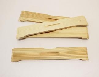 Flugloch-Schieber aus Holz; EMMU10 / 369x384x19 Bild