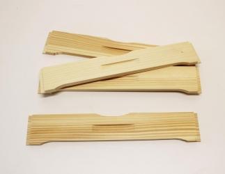 Flugloch-Schieber aus Holz; ÖBW12 / 490x490 Bild