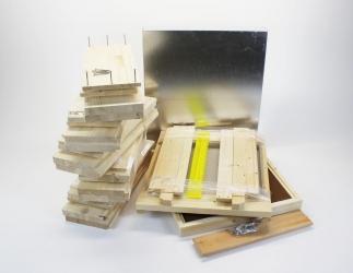 Set selber bauen; EMMU10 Flachzarge /  420x435  Bild