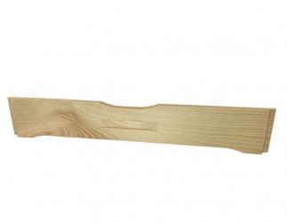 Flugloch-Schieber aus Holz; LT10+Dadant 10er US / 425x513 Bild