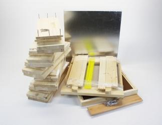 Set zum selber bauen; ÖBW10 Flachzarge / 420x490 Bild