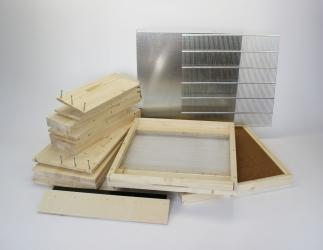 Set selber bauen: Dadant AMI12 / 513 x 513 Falzlos; 3 cm Boden/ 159 mm HN Bild