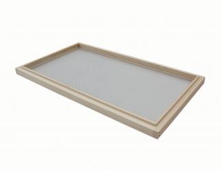 Rahmen mit Edelstahlgitter für Lagerbeute;  Bitte dazugehöriges Maß wählen! Bild