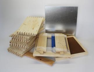 Set zum selber bauen; LT10 Falzlos Vollzarge / 425x513 Bild