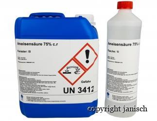 Ameisensäure CR 75 % Desinfektionsmittel
