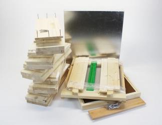 Set selber bauen; ZA MU10 Flachzarge / 420x490  Bild