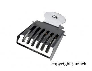 Abfangkäfig Clip, Metall aus Edelstahl Bild