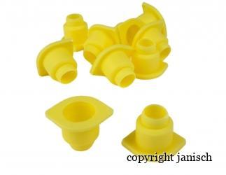 Nicot Weiselnapfhalter gelb, 10 Stk. / Pkg.  Bild