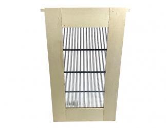 Rahmen mit Rundstabgitter; zum Einhängen in die Einraumbeute 327 x 285 x 522 Bild
