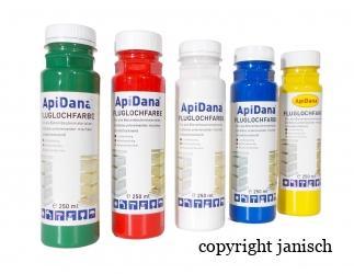 Fluglochfarbe 250 ml; Bild