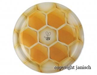 Deckel/ Biene, für 1000g und 500g Gläser Bild